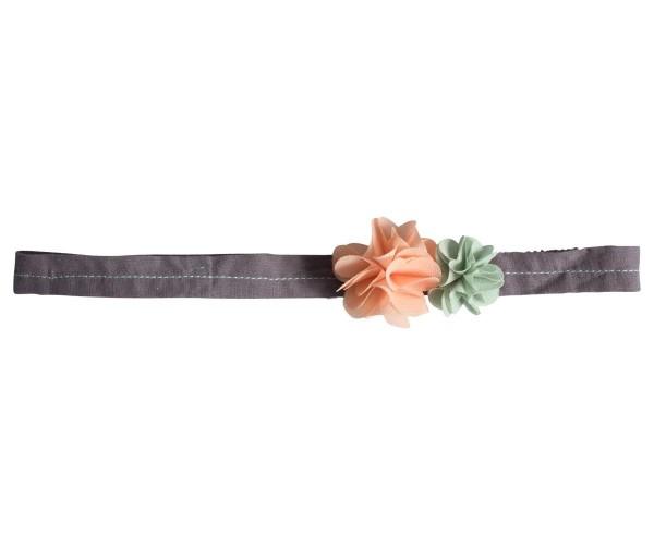 Maileg Hairband Flowers rose green