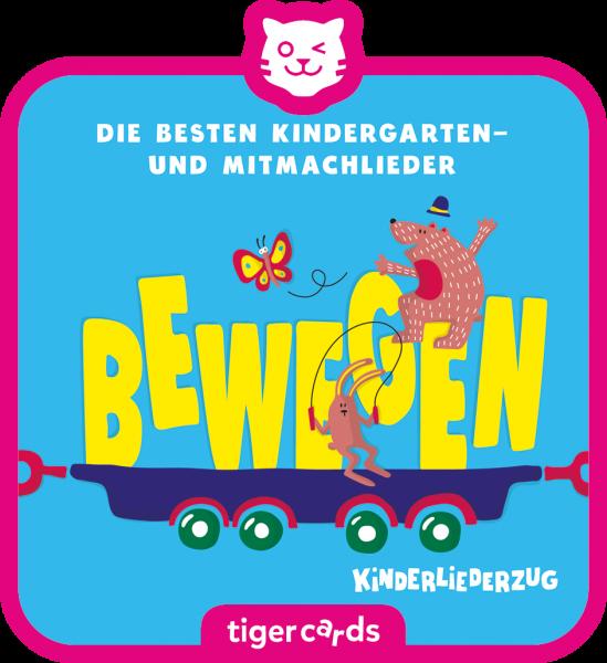 tigercard - Kinderliederzug - Folge 2: Die besten Kindergarten- und Mitmachlieder - Lernen von tiger