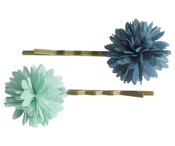 Maileg Bobby Pins Mint/Blue
