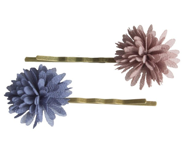 Bobby Pins Denim/Brown von Maileg