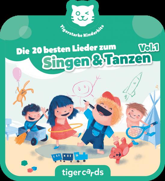 tigercard - Die 20 besten Lieder zum Singen & Tanzen von tigermedia