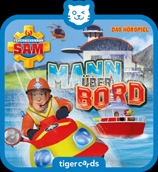 tigercard - Feuerwehrmann Sam - Mann über Bord von tigermedia