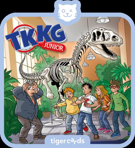 tigercard - TKKG Junior - Dino-Diebe von tigermedia