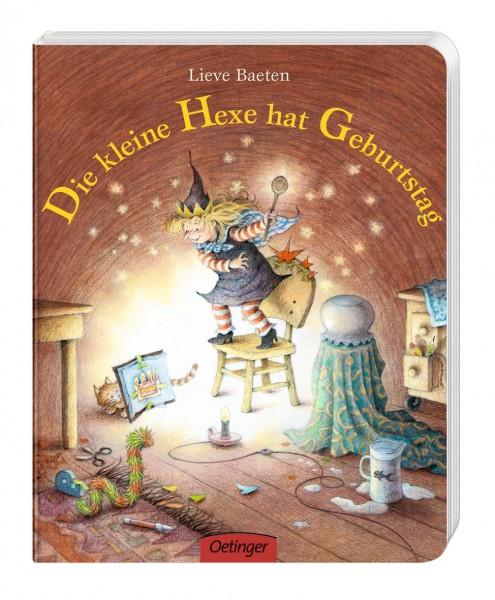 Die kleine Hexe hat Geburtstag - Lieve Baeten von Oetinger
