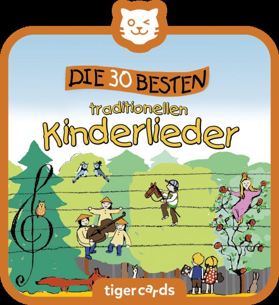 tigercard - Die 30 besten traditionellen Kinderlieder von tigermedia