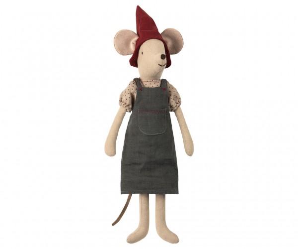 Maileg Christmas mouse, medium, girl