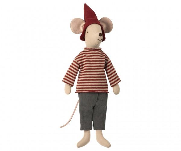 Maileg Christmas mouse, medium, boy
