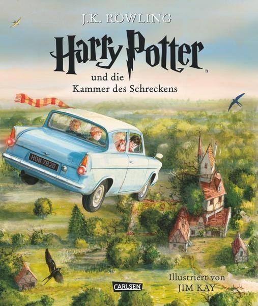 Harry Potter und die Kammer des Schreckens - J.K.Rowling, Jim Kay von Carlsen