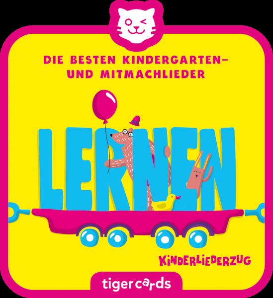 tigercard - Kinderliederzug - Folge 1: Die besten Kindergarten- und Mitmachlieder - Bewegen von tige