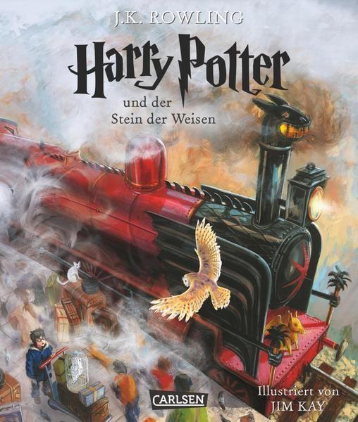 Harry Potter und der Stein der Weisen - J.K.Rowling, Jim Kay von Carlsen