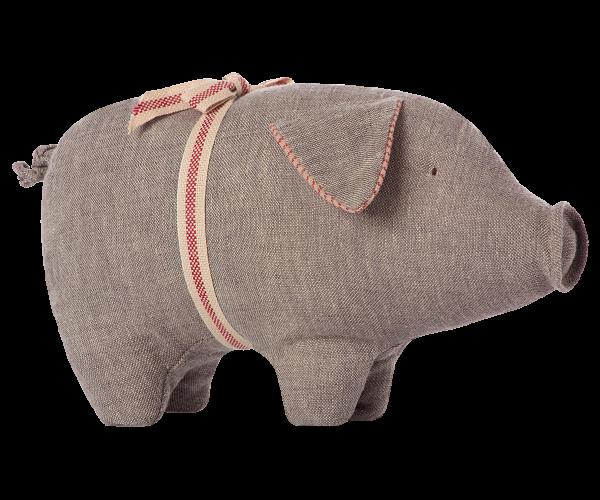 Maileg Schwein klein grau