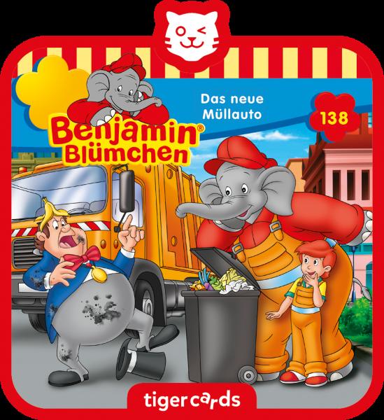 tigercard - Benjamin Blümchen - Das neue Müllauto von tigermedia