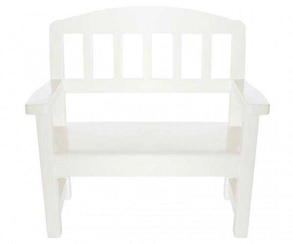 Maileg Wooden Bench off white