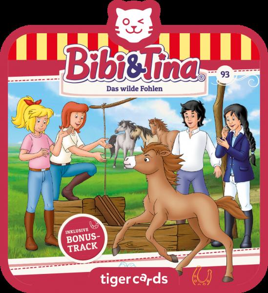 tigercard - Bibi & Tina - Das wilde Fohlen von tigermedia