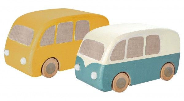 Maileg Wooden Bus assorted