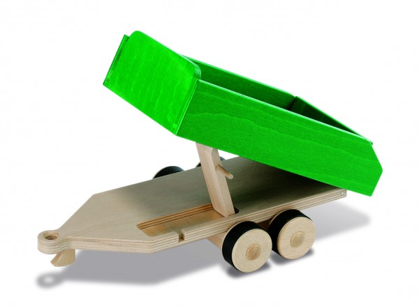 nic creamobil Tandem Anhänger Grün