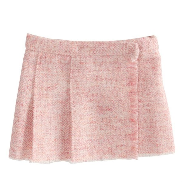Maileg Wool Tweed skirt rose mini