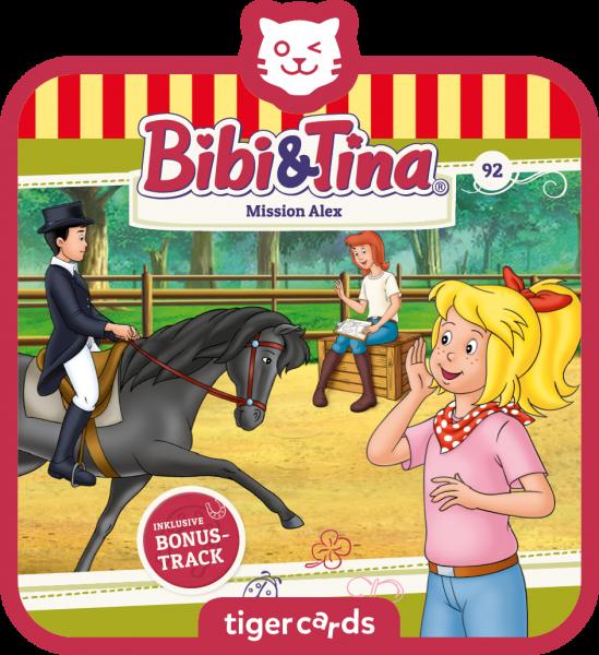 tigercard - Bibi & Tina - Mission Alex (Folge 92) von tigermedia
