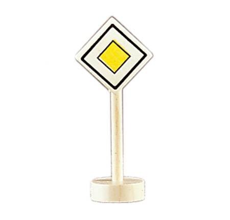 Glückskäfer - Verkehrszeichen Vorfahrtsstraße