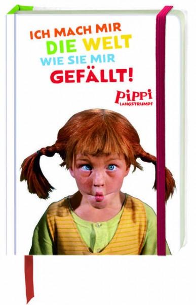 Notizblock - Pippi Lanfstrumpf - Ich mach mir die Welt wie sie mir gefällt von Oetinger