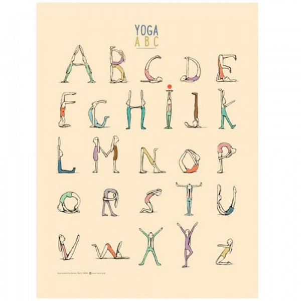 Maileg Yoga ABC