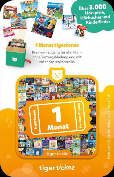tigerticket - 1 Monat von tigermedia