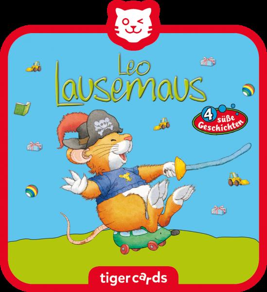 tigercard - Leo Lausemaus - Geht auf Schatzsuche und 3 weitere süße Geschichten von Tigermedia