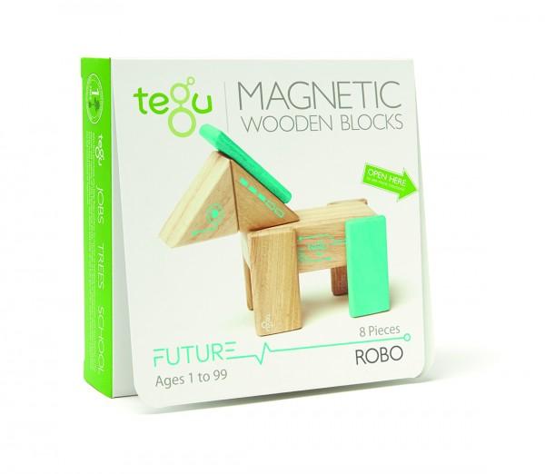 Tegu Magnetbausteine 8tlg. Starter-Set ROBO