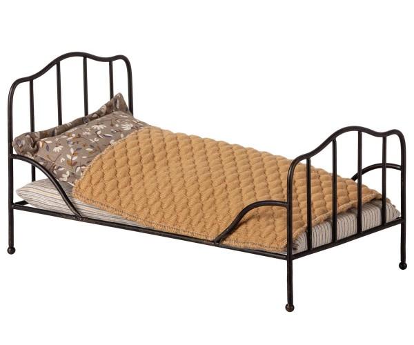 Maileg vintage bed mini anthracite