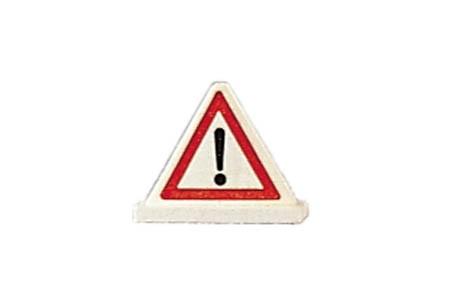 Glückskäfer - Verkehrszeichen Warndreieick
