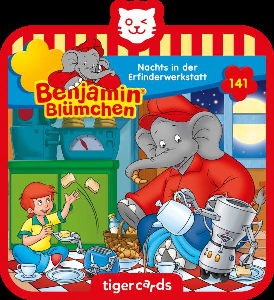 tigercard - Benjamin Blümchen - Nachts in der Erfinderwerkstatt (Folge 141) von tigermedia