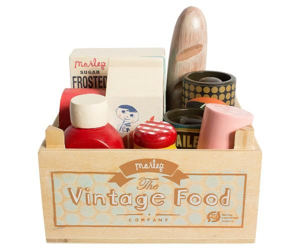 Maileg Lebensmittelkiste Vintage