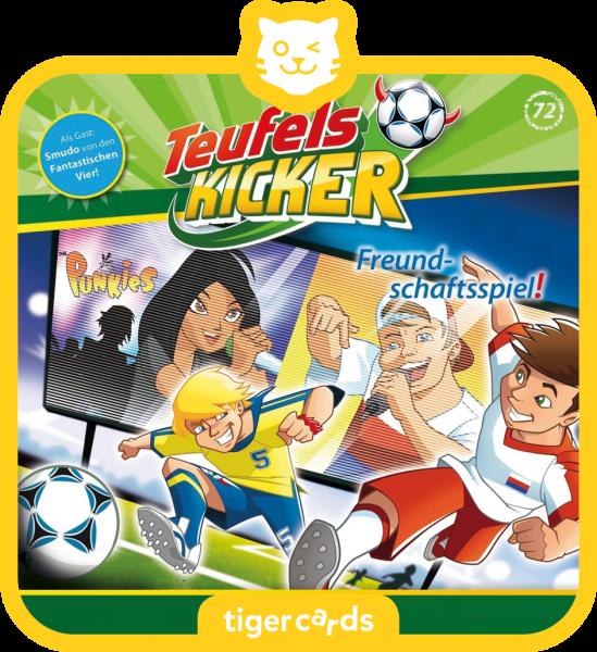 tigercard - Teufelskicker - Freundschaftsspiel von tigermedia