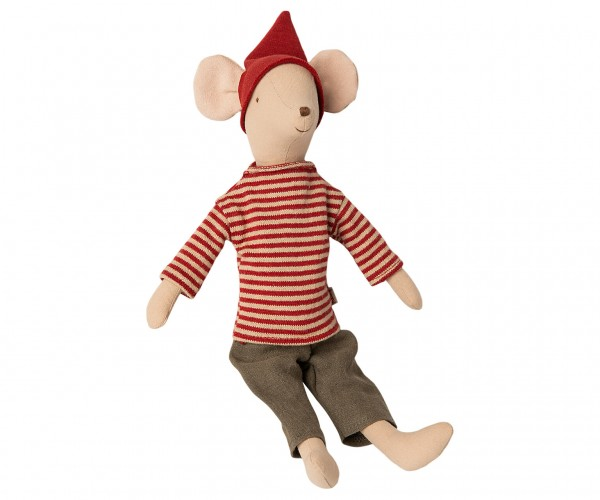 Maileg Christmas mouse, medium, boy