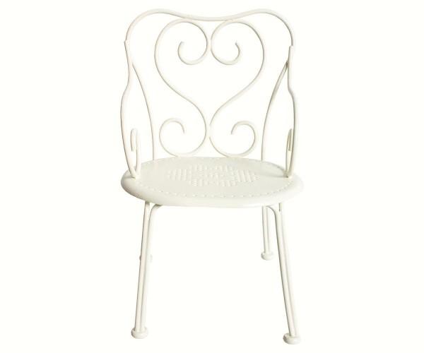 Maileg Romantic chair, Mini, Offwhite