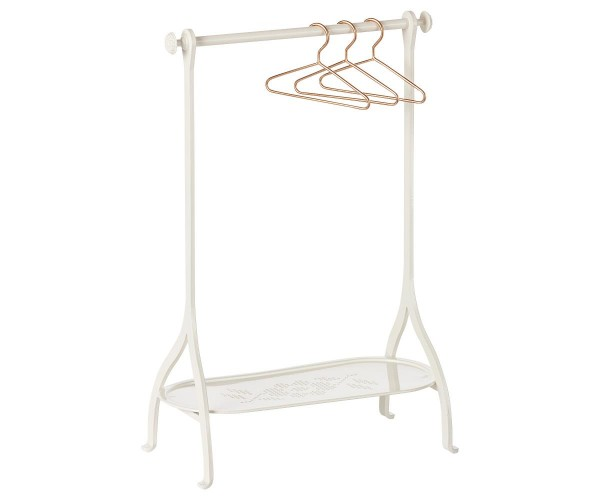 Maileg Clothe Rack in metal, off white