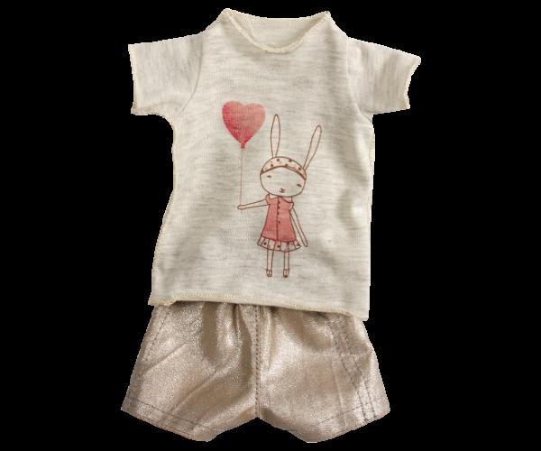 Maileg girls shorts set medium