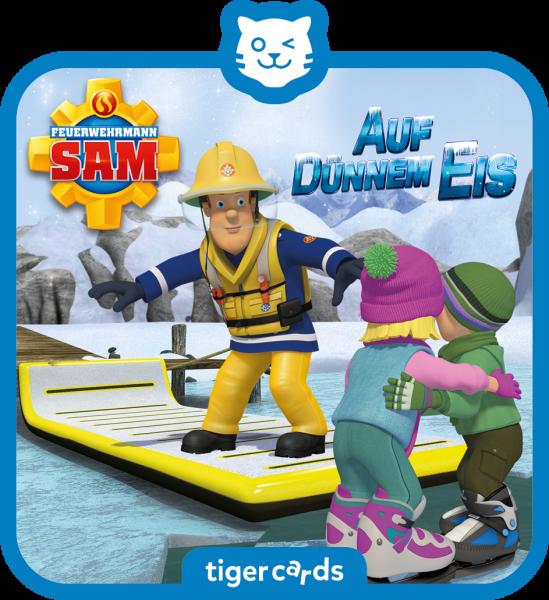 tigercard - Feuerwehrmann Sam - Auf dünnem Eis von tigermedia