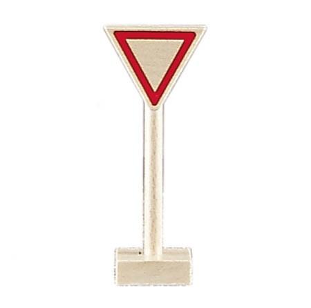 Glückskäfer - Verkehrszeichen Vorfahrt gewähren