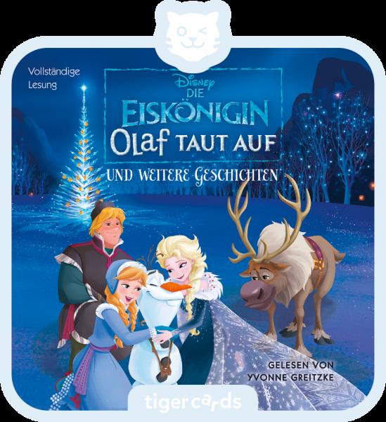 tigercard - Die Eiskönigin - Olaf taut auf von tigermedia